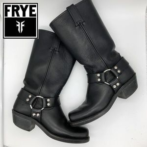 Frye Harness boots 12R black Size 7.5